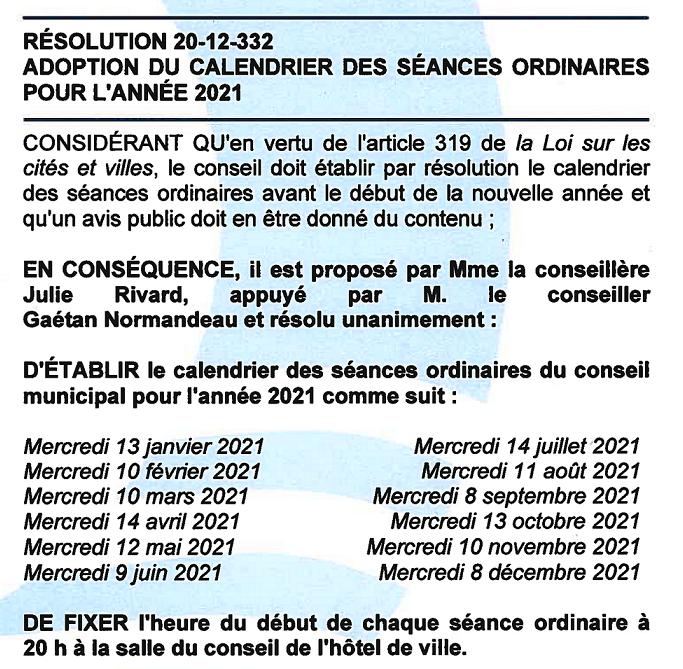 20-12-332 - Calendrier des séances ordinaires 2021 b (683x669)